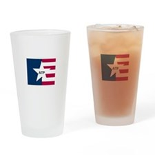 Cool Basic logo Drinking Glass
