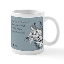 Equally Miserable Mondays Small Mugs
