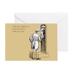I Like You Greeting Card