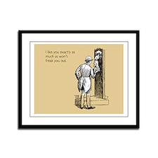 I Like You Framed Panel Print