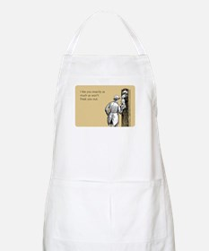 I Like You Apron