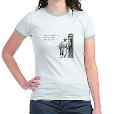 I Like You Jr. Ringer T-Shirt