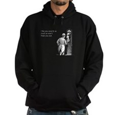 I Like You Hoodie (dark)