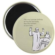 Hot & Sticky Birthday Magnet