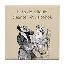 Alcohol Cleanse Tile Coaster