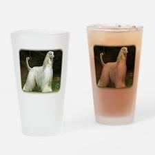 Afghan Hound 9J32D-21 Drinking Glass