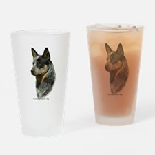 Australian Cattle Dog 9F61D-0 Drinking Glass