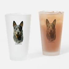 Australian Cattle Dog 9F061D- Drinking Glass