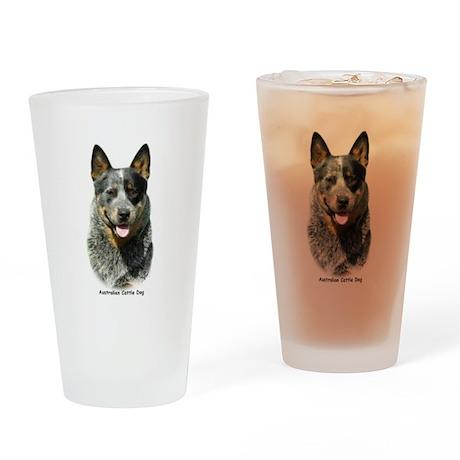 Australian Cattle Dog 9F061D- Drinking Glass