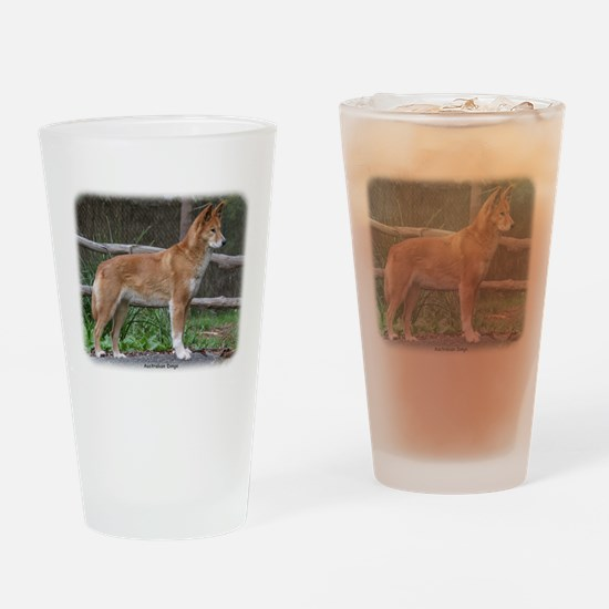 Australian Dingo 9Y209D-268 Drinking Glass