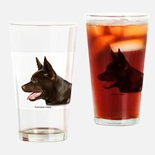 Australian Kelpie 9P24D-134 Drinking Glass