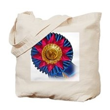Horse Show Blue Ribbon Awards Tote Bag