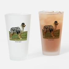 Australian Shepherd 9K7D-20 Drinking Glass