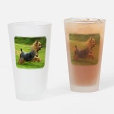 Australian Silky Terrier 9B19 Drinking Glass