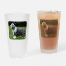 Bearded Collie 8R002D-16 Drinking Glass