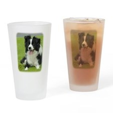 Border Collie 9A015D-10_2 Drinking Glass
