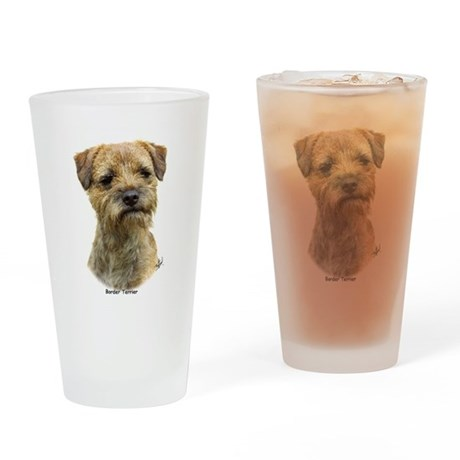 Border Terrier 9A21D-19 Drinking Glass