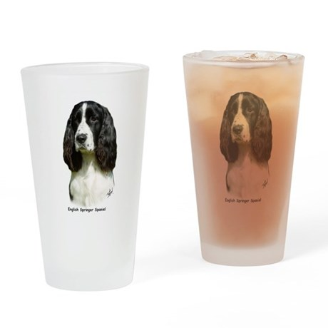 English Springer Spaniel 9J37 Drinking Glass