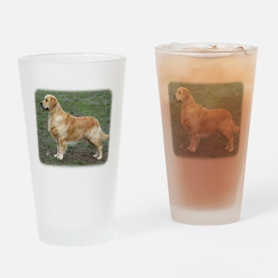 Golden Retriever 9Y186D-072 Drinking Glass