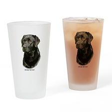 Labrador Retriever 9A054D-23a Drinking Glass