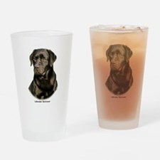Labrador Retriever 9Y245D-018 Drinking Glass