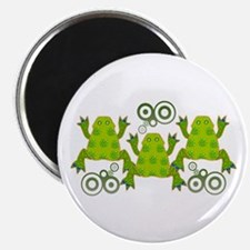 Funky Frogs Magnet