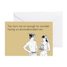 Un-Airconditioned Sex Greeting Card