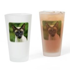 Siamese Cat 9W027D-131 Drinking Glass