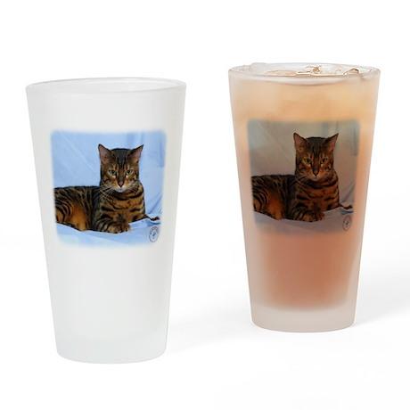 Bengal Cat 9W052D-023 Drinking Glass