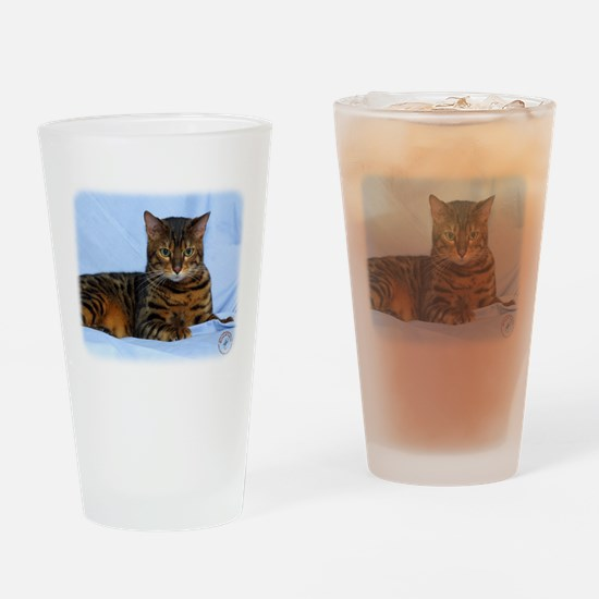 Bengal Cat 9W052D-023 Drinking Glass