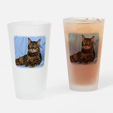 Bengal Cat 9W052D-018 Drinking Glass