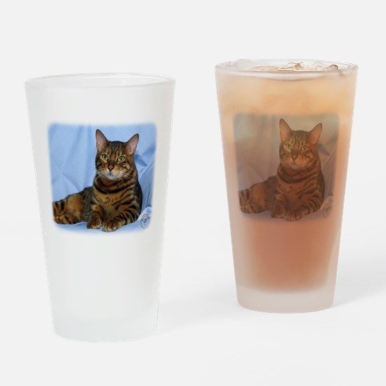 Bengal Cat 9W052D-018 Drinking Glass