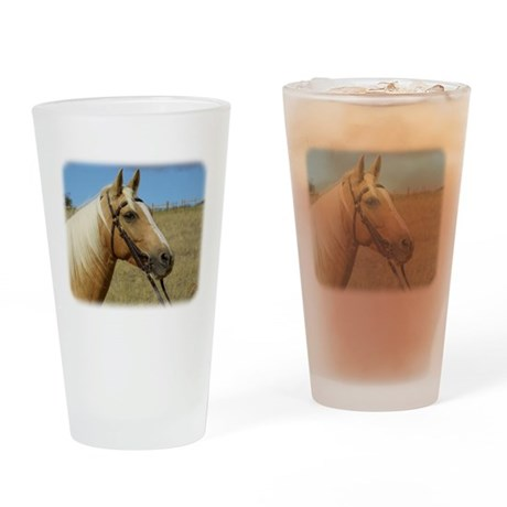 Palomino Horse 9R015D-184 Drinking Glass