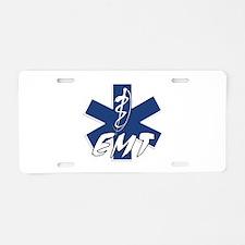 EMT Active Aluminum License Plate