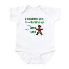 Non-circumcision Infant Bodysuit
