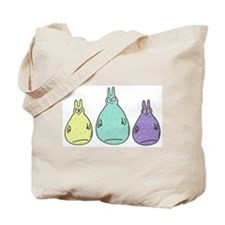 Floppity fat bunnies Tote Bag