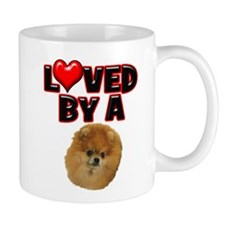Loved by a Pomeranium Mug