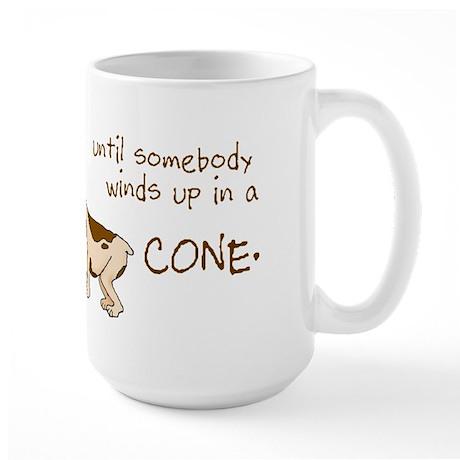 Dog Cone Large Mug