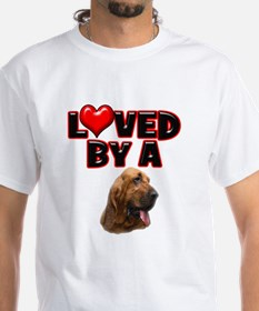 Loved by a Bloodhound Shirt