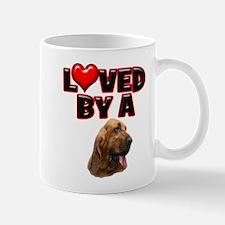 Loved by a Bloodhound Mug
