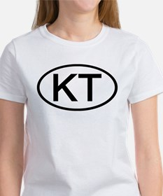 KT - Initial Oval Tee