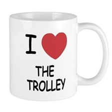 I heart the trolley Mug