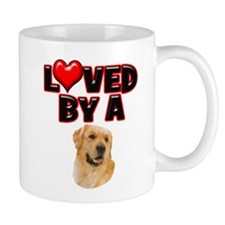 Loved by a Golden Retriever 2 Mug