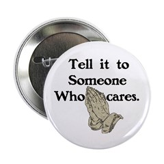 """Someone Cares 2.25"""" Button"""