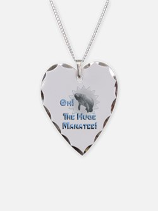 Huge Manatee Necklace