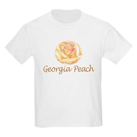 Georgia Peach Kids Light T-Shirt