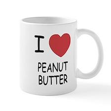 I heart peanut butter Mug