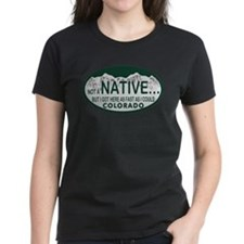 Not a Native Colo License Plate Tee