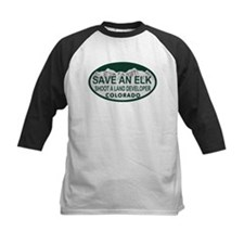 Save an Elk Colo License Plate Tee