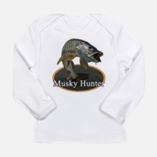 Musky, 6 Long Sleeve Infant T-Shirt